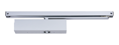 EN 2-4 door closer, rack & pinion with slide arm