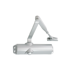 EN selectable 2-4 door closer, rack & pinion with link arm