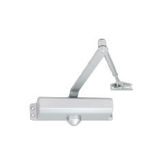 Power size 2/3/4/5 door closer, rack & pinion with link arm